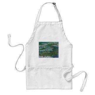 Claude Monet Waterlilies Apron