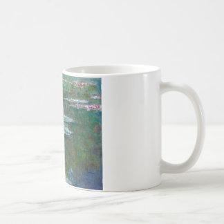 Claude Monet // Waterlilies Basic White Mug