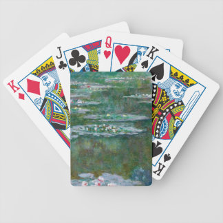 Claude Monet Waterlilies Bicycle Poker Deck
