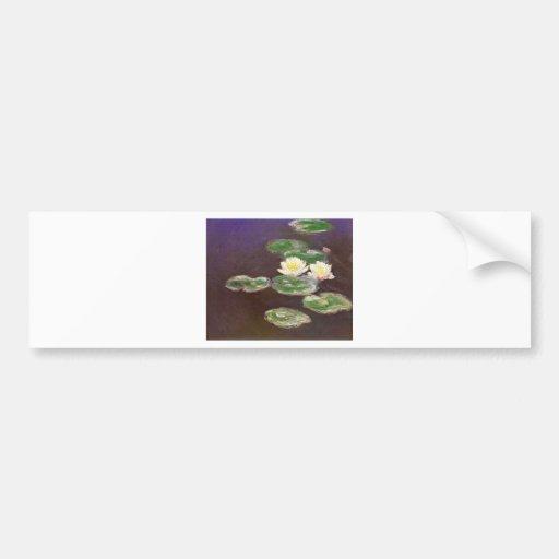 Claude Monet - Waterlilies Bumper Stickers