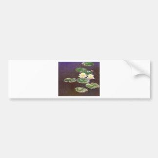 Claude Monet - Waterlilies Car Bumper Sticker