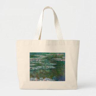 Claude Monet // Waterlilies Canvas Bags