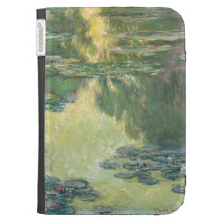 Claude Monet Waterlilies French Impressionism Art Case For Kindle
