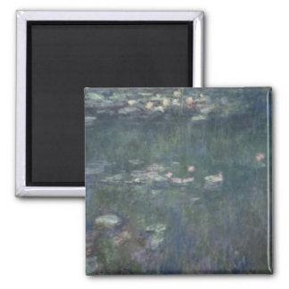 Claude Monet | Waterlilies: Green Reflections Magnet