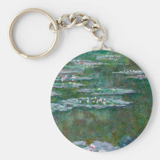 Claude Monet // Waterlilies Key Chain