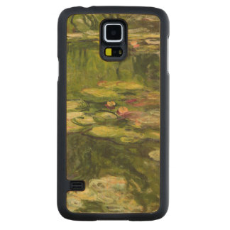 Claude Monet | Waterlilies Maple Galaxy S5 Case