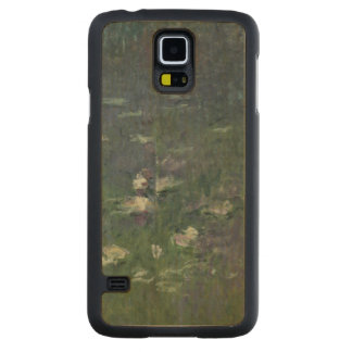 Claude Monet | Waterlilies: Morning, 1914-18 Maple Galaxy S5 Case