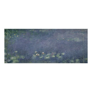 Claude Monet | Waterlilies: Morning, 1914-18 Poster