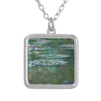 Claude Monet // Waterlilies Personalized Necklace