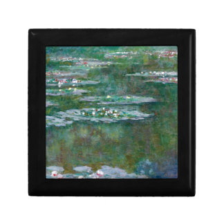 Claude Monet // Waterlilies Small Square Gift Box