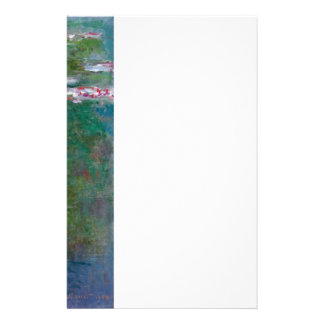 Claude Monet // Waterlilies Personalized Stationery