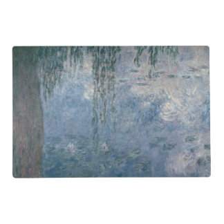 Claude Monet | Waterlilies: Weeping Willows, 1914 Placemat