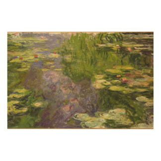 Claude Monet | Waterlilies Wood Canvases