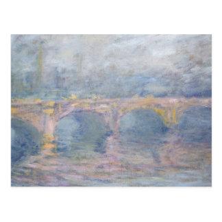 Claude Monet | Waterloo Bridge, London, at Sunset Postcard