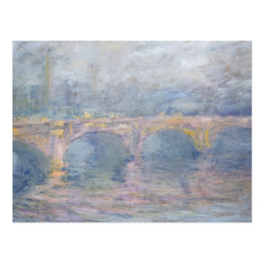 Claude Monet | Waterloo Bridge, London, at Sunset