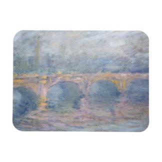 Claude Monet | Waterloo Bridge, London, at Sunset Rectangular Photo Magnet