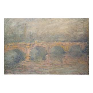 Claude Monet | Waterloo Bridge, London, at Sunset Wood Wall Decor