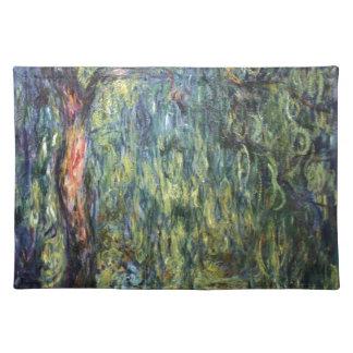 Claude Monet Weeping Willow Place Mats