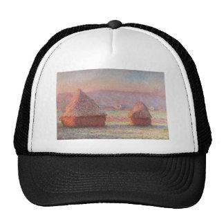Claude Monet - White Frost Sunrise Mesh Hat