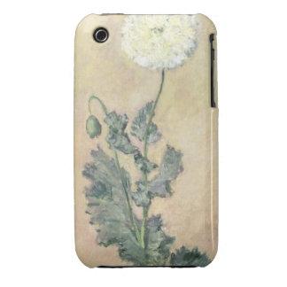 Claude Monet | White Poppy, 1883 iPhone 3 Cover