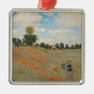 Claude Monet | Wild Poppies, near Argenteuil Christmas Ornament