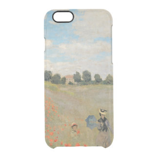 Claude Monet | Wild Poppies, near Argenteuil Clear iPhone 6/6S Case