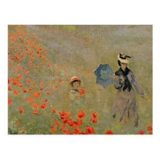 Claude Monet | Wild Poppies, near Argenteuil Postcard