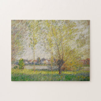 Claude Monet - Willows of Vetheuil Jigsaw Puzzle
