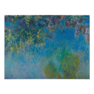 Claude Monet Wisteria Fine Art Floral GalleryHD Photographic Print