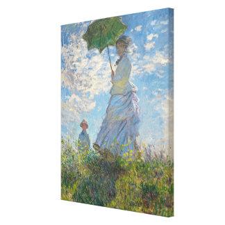 Claude Monet | Woman with a Parasol Canvas Print
