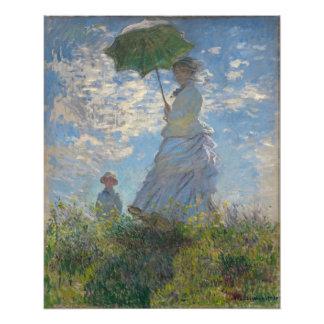 Claude Monet - Woman with a Parasol Photograph