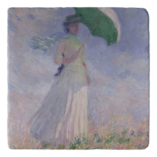 Claude Monet | Woman with a Parasol Turned