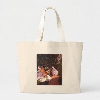 Claude Monet Women in the Garden Canvas Bag