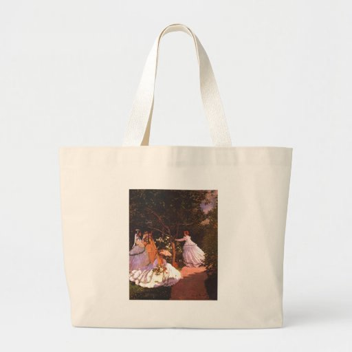 Claude Monet // Women in the Garden Canvas Bag
