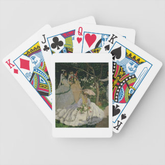 Claude Monet | Women in the Garden Bicycle Playing Cards