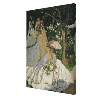 Claude Monet | Women in the Garden Canvas Print
