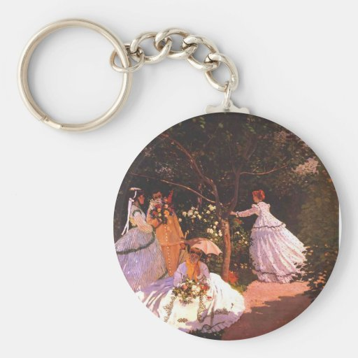 Claude Monet // Women in the Garden Key Chains