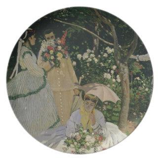 Claude Monet | Women in the Garden Plates