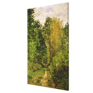 Claude Monet | Wooded Path Canvas Print