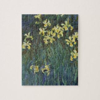 Claude Monet - Yellow Irises Jigsaw Puzzle