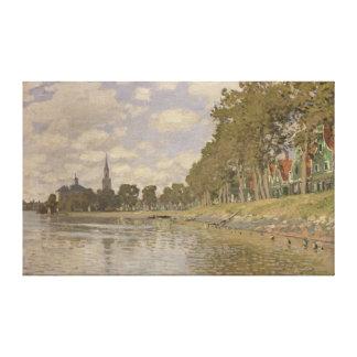 Claude Monet | Zaandam 1871 Canvas Print