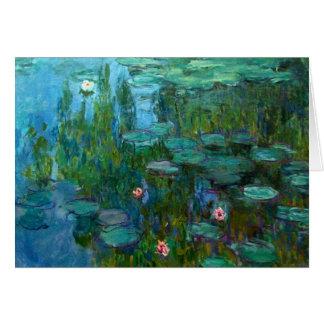 Claude Monet's Nymphéas Card
