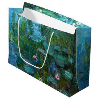 Claude Monet's Nymphéas Large Gift Bag