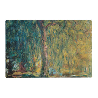 Claude Monet's Weeping Willow Laminated Place Mat