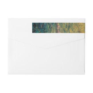 Claude Monet's Weeping Willow Wrap Around Label