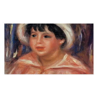 Claude Renoir by Pierre-Auguste Renoir Business Cards
