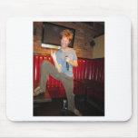 Claude Stuart ~ Rock n Roll Comedy! Mouse Pad