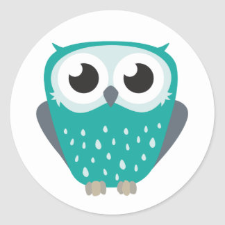 Claude the Little Owl Stickers