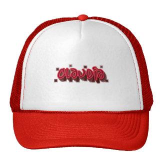 Claudia Graffiti Trucker Hat Cap