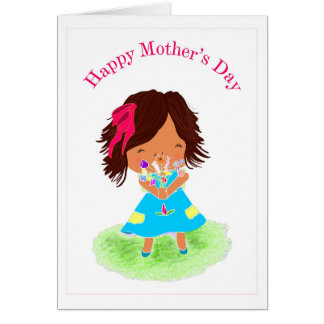 Claudia Marisa Mother's Day Card **Blank**